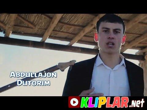 Abdullajon - Dutarim (Video klip)