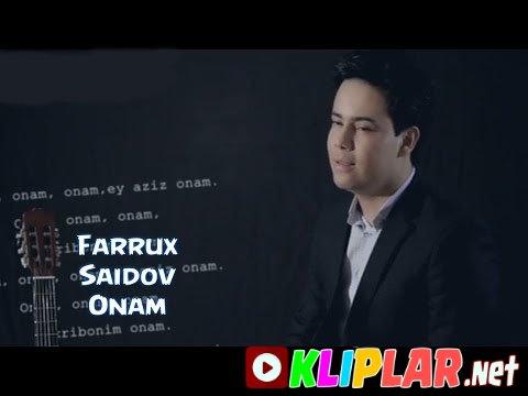 Farrux Saidov - Onam