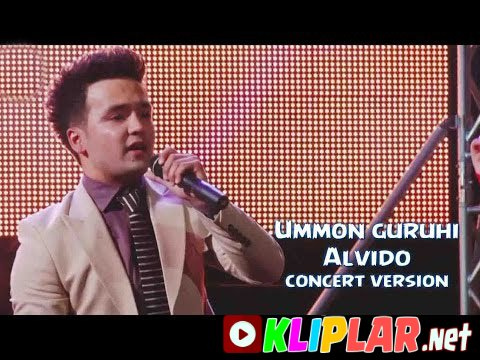 Ummon guruhi - Alvido - (concert version)