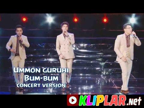 Ummon guruhi - Bum-bum (concert version)