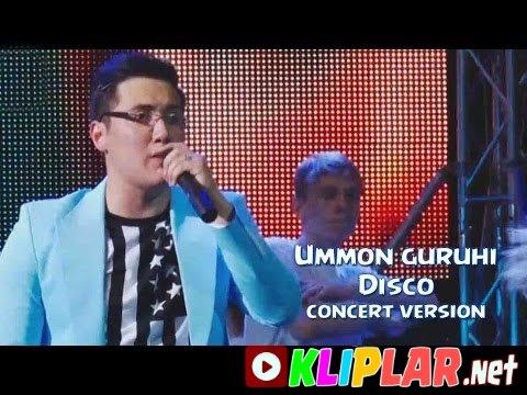 Ummon guruhi - Disco - (concert version)