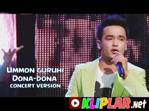 Ummon guruhi - Dona-dona (concert version)