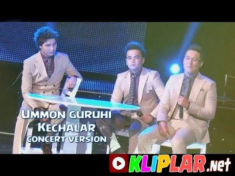 Ummon guruhi - Kechalar - (concert version)